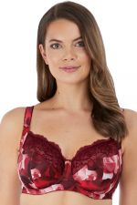 Rosemarie Soft Side Support Bra Rouge