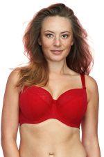 Sandy Semi-Soft Bra Red