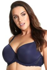 Sasha Plunge T-shirt Bra Ink Blue