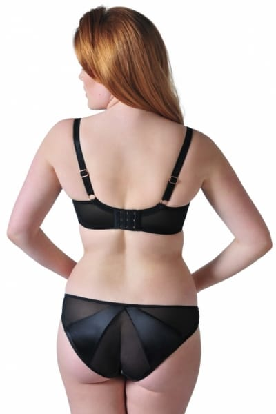 Scantilly by Curvy Kate Peek-A-Boo Brief Black  36-50 ST2305