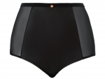 Unleash High Waist Brief Black Wetlook