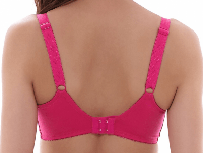 Selina Full Cup Bra with Side Support Bright Rose