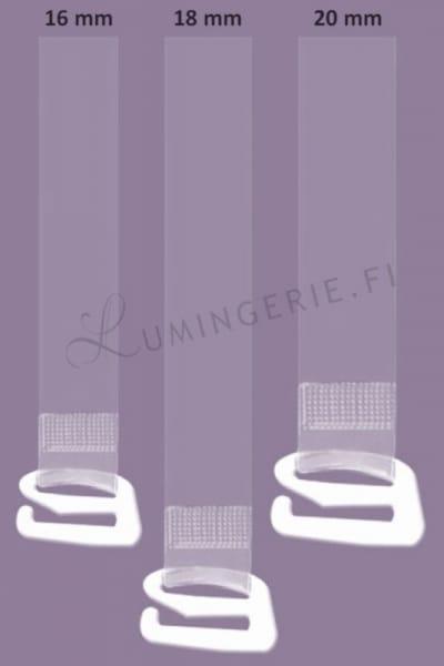 Julimex Accessories Silicone Bra Strap  16mm, 18mm, 20mm RT-