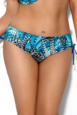 Skye String Side Bikini Briefs Blue Feather