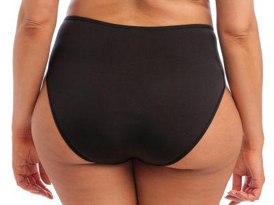 Elomi Smooth Full Brief Black High waist full brief M-4XL EL4565-BLK