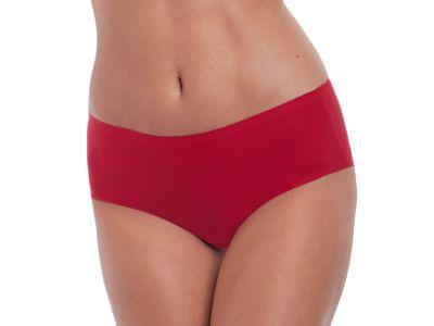 Fantasie Smoothease Stretch Brief Red Midi brief with medium high waist. XS-XL FL2329-RED