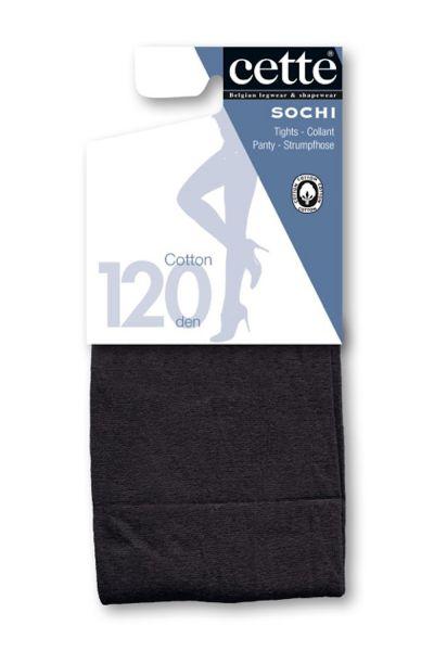 Cette Sochi Pantyhose Black 120 den  S-3XL 749-10/12-902