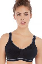 Sonic Moulded Sports Bra Storm Black