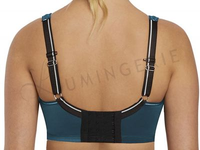 Sonic Moulded Sports Bra Petrol
