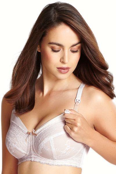 Panache Sophie Nursing Bra Linen Non-wired, soft, drop cup nursing bra 65-90 E-J 5821-LINEN
