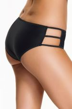 Stripes Brief Black
