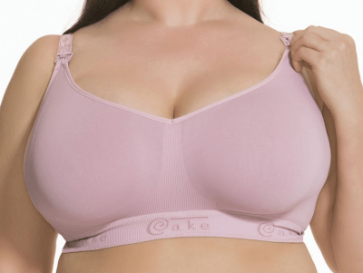 Sugar Candy Seamless Soft Nursing Pink