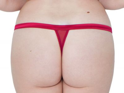 Surrender Thong Deep Red