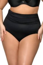Basic Black High Waist Bikini Brief
