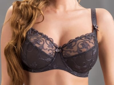 Tess Soft Bra Graphite