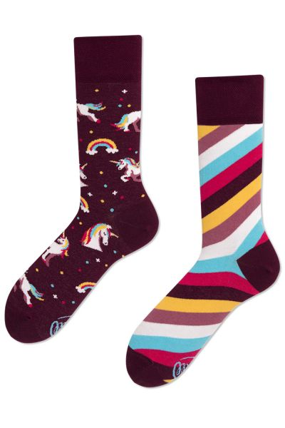 Many Mornings  Unicorn Regular Socks 1 pair  35-38, 39-42, 43-46 R66