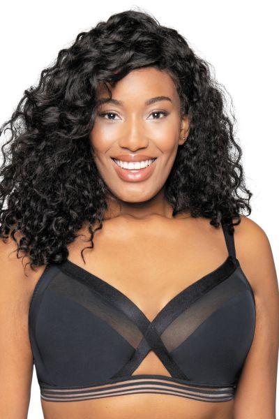 Curvy Kate Unwind Bralette Black Wireless bralette bra 65-90 E/F - M/N CK-011110-BLK