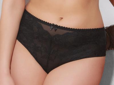 Valentine Brazilian Thong Black