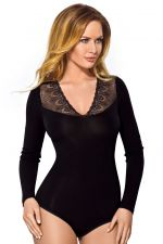 Vestiva Long Sleeve Body Black