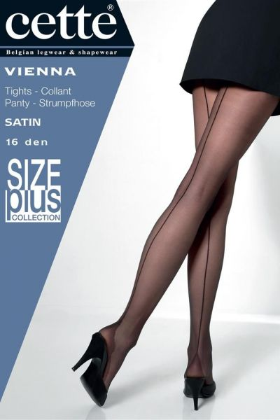 Vienna Pantyhose with Back Seam Tendresse 16 den