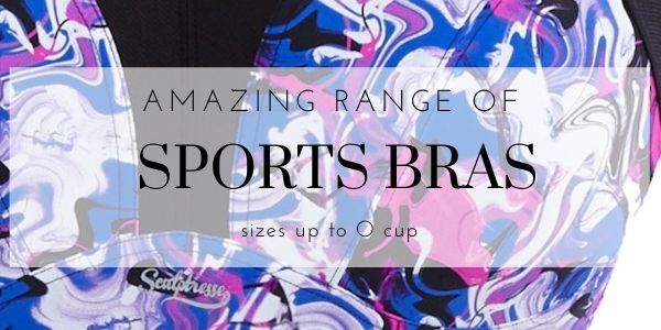Amazing range of sports bras